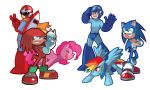 Team Red and Team Blue by Sapphire1010