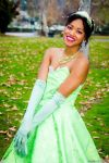 Look How She Lights Up The Sky -Princess Tiana by xAleux
