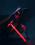 Kylo Ren sketch for May The Fourth Star Wars Day by Noe-Leyva