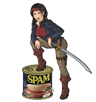 Spam Pirate by Georgel-McAwesome
