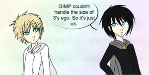 GIMP, Like WTF? by The-Silent-Angel