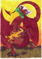 The Welsh Dragon's Dominion by ValyrianSilverwing