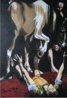 Caravaggio Reproduction by taintedclosure