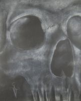 Skull Still Life by NateTheKnife