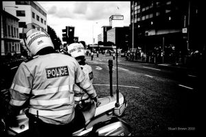 Policing the streets by Mojave-Plain