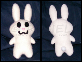 Bunny Plushie One by Lindolis