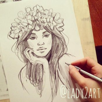 flower_queen. by Lady2