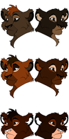 Outlander Cub adopts 2 by Slyryn
