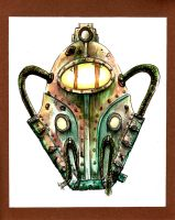 Bioshock Big Daddy Helm by Barnlord