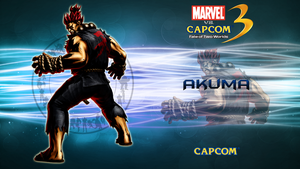 Marvel VS Capcom 3 Akuma by CrossDominatriX5