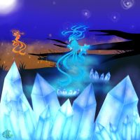 Fire Vs Ice by yamihp7