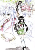 Feelings Inuyasha fanart by hakeshsama