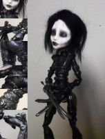 SOLD: OOAK MH Spectra Scissorhands by mourningwake-press