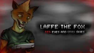 Laffe The Fox: Red Eyes and Gray Skies album cover by Apples-Malus