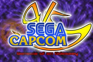 SEGA Vs. Capcom Logo by Cornelious-Raidon