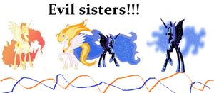 Evil Sisters! by flyingcheese143