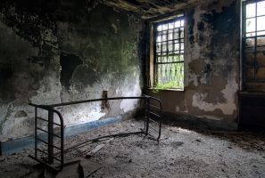Charcoal State Hospital III by baleze