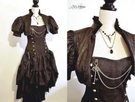 Steampunk Goth My Oppa commande by myoppa-creation