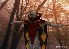 I am, the lord Ghirahim. by Ilora24