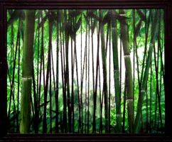 Bamboo Forest by el-woopo