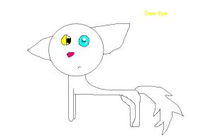 One-eye by Mint-Apples