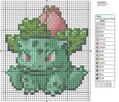 2 - Ivysaur by Makibird-Stitching