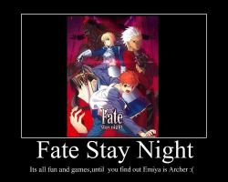 Fate Stay Night by Sappheirous