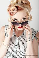 Peek You Pinup - Savanna May by SassyChassis