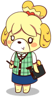 Isabelle by SillyArtist