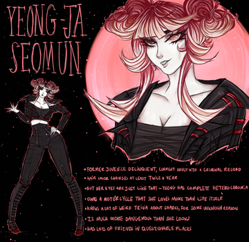 [ref sheet] Yeong-Ja by OpheliaNevermore