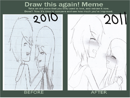 Draw this Again Meme by Tsundere-Queen