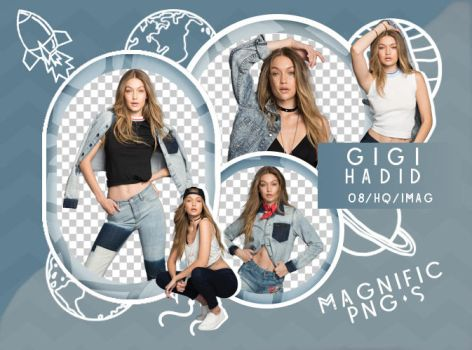 +Pack Png - Gigi Hadid by Magnific-Pngs