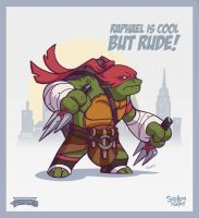 Raphael is cool but rude! by ReevolveR