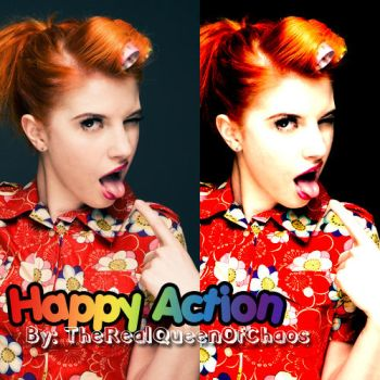Happy Action by TheRealQueenOfChaos
