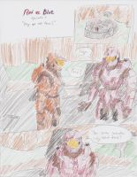 Red vs. Blue TBGC s1 Ch1 Pg1 by kyon9854