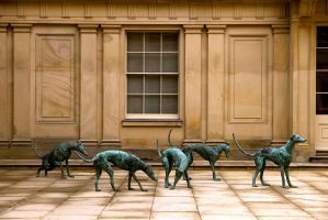 Sculptures at Chatsworth by parallel-pam