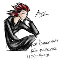 Ten point commish Axel for reddish-muse by Idigoddpairings