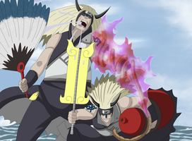 Naruto 527-The KinGin Brothers by ernie1991