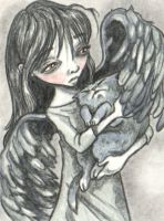 ACEO-You're Not Alone by KootiesMom