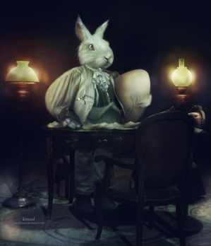 The Easter Hare by kimsol