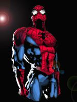 Spiderman Colored by syac90