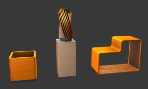 Furniture Series - Set 1 by MetamorpheSTLK