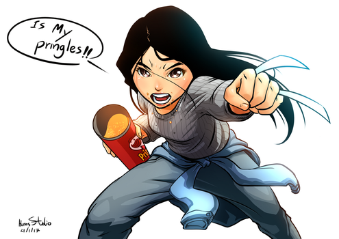 X23 My Pringles by Kumsmkii