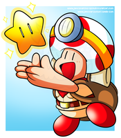 Treasure Tracker, Captain Toad by JamesmanTheRegenold