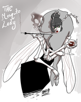The Mosquito Lady -torso- by GNZG