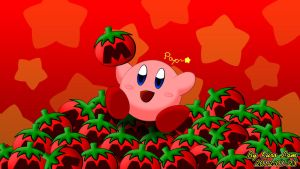 Kirby with Lots of Maxim Tomatoes by kuro19890616