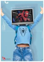 Ghiras TV spiderman Ad by caprozo911