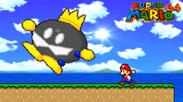 193. King Bob-omb by BeeWinter55