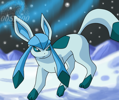 Glaceon by 00ShadowDragon00