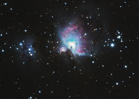 Messier 42, The Orion Nebula by astronak